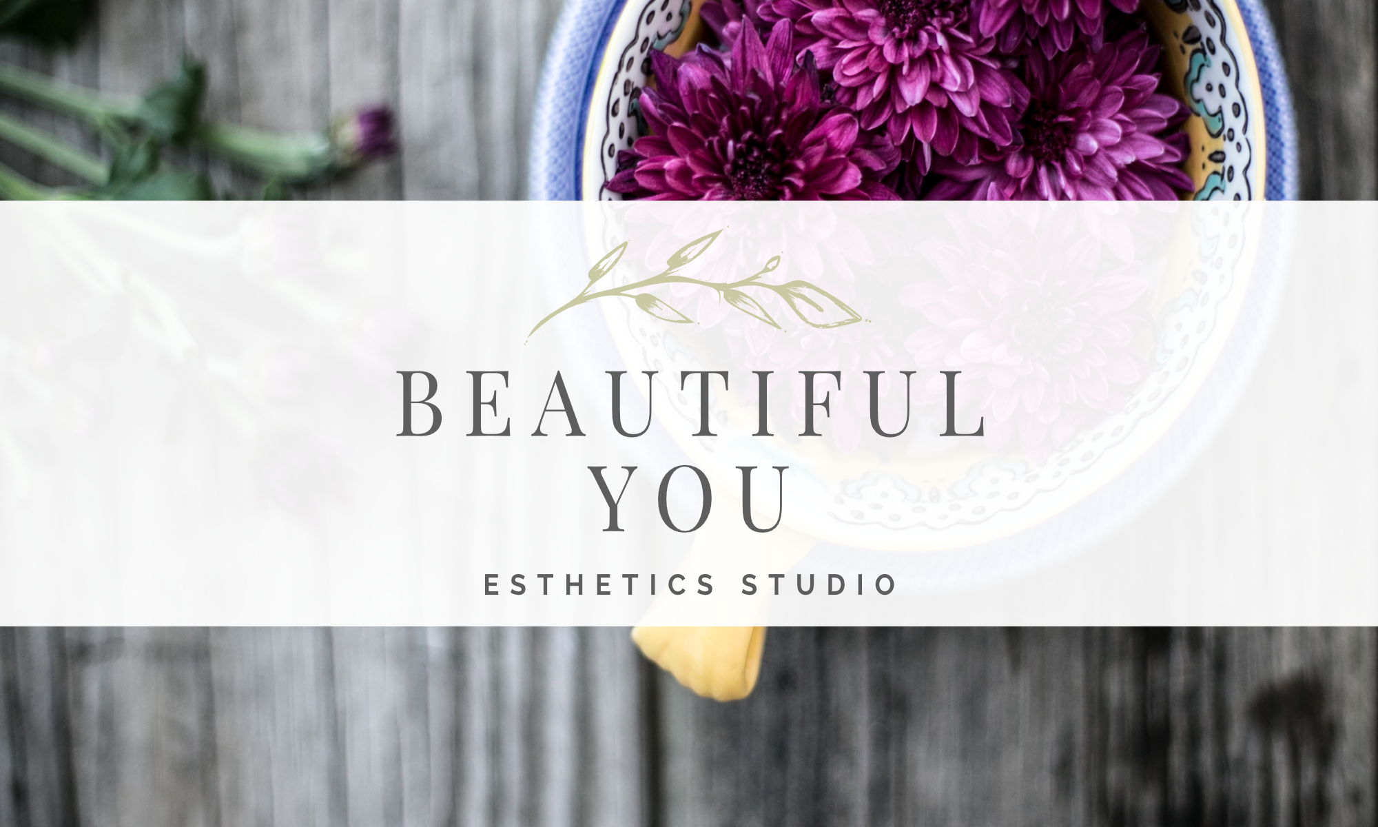 Beautiful You Esthetics Studio Logo